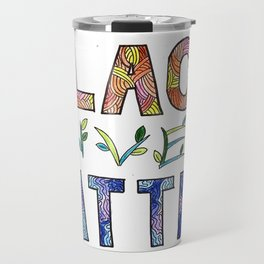 Black & Proud Travel Mug
