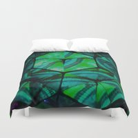 third eye Duvet Covers featuring Third Eye by Lotus Effects