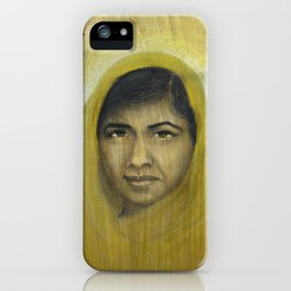 I am Inspired by Malala iPhone Case