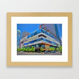 JW Marriott Downtown Austin Framed Art Print