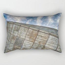 Sinking Building Sky of Dread Rectangular Pillow