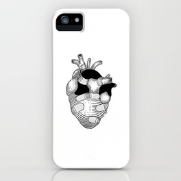 The strongest hearts have the most scars iPhone Case