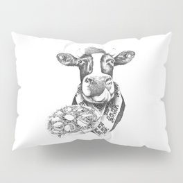 Picky Moo Pillow Sham