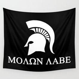 Sparta-molon-labe Wall Tapestry