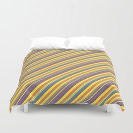 Summer Lights Inclined Stripe Duvet Cover