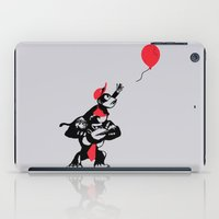planet of the apes iPad Cases featuring Balloon Apes by merimeaux
