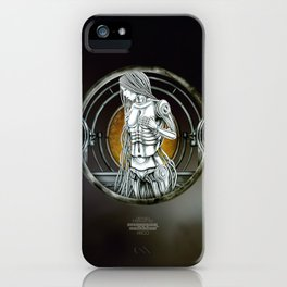 """""""Astrological Mechanism - Virgo"""" iPhone Case"""