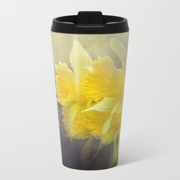 Out of the Darkness - Daffodil Flowers Travel Mug