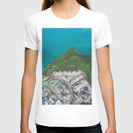 Skyscraper & Ocean T-shirt