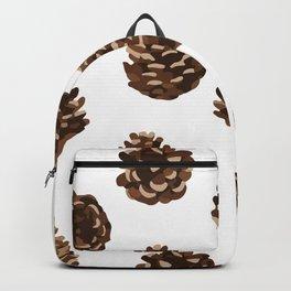 Seasonal Pine Cones Backpack