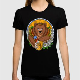 Hippie Bear T-shirt