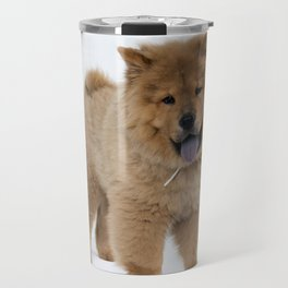 Chow Chow Puppy Travel Mug
