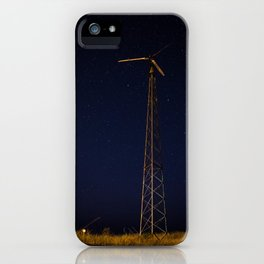 Windmill beneath the Stars, Grand Marais iPhone Case