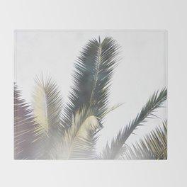 Palm Throw Blanket