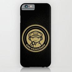 Chibi Kimi Raikkonen - Lotus F1 Team Slim Case iPhone 6s