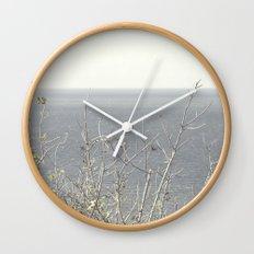Branches at the sea Wall Clock