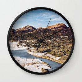 Ostriconi Beach Wall Clock