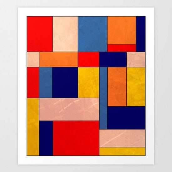 Abstract #340 Art Print