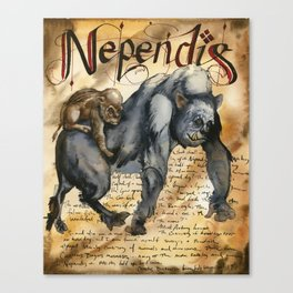 Nependis Canvas Print