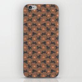 Black Lab Love iPhone Skin