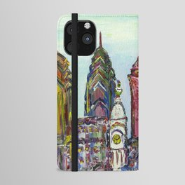 Philadelphia Skyline iPhone Wallet Case