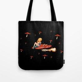 Mushroom Space Tote Bag