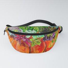 Succulent Pumpkin Fanny Pack