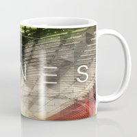 bones Mugs featuring Bones by Vin Zzep