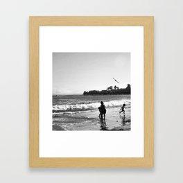 Capitola Pier Framed Art Print