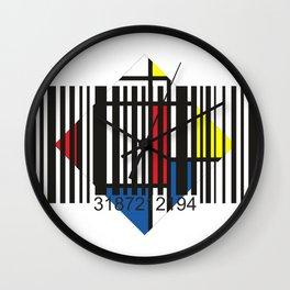Barcode 004d Wall Clock