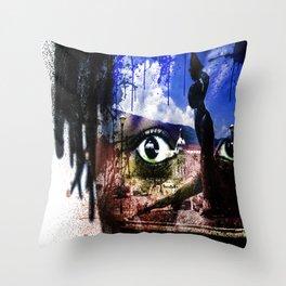 Haiti Cherie Throw Pillow