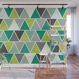 Triangulum - Emerald Wall Mural