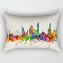 Bangkok Thailand Skyline Rectangular Pillow