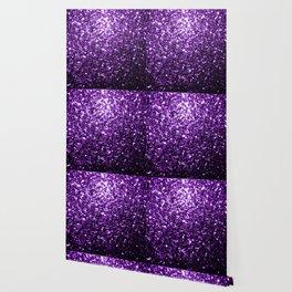 Beautiful Dark Purple glitter sparkles Wallpaper