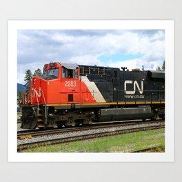 Canadian National Railway Art Print