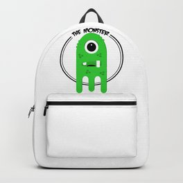 Green Slime Monster Backpack