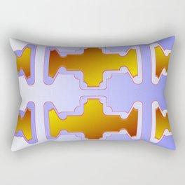 Copper plates pattern Rectangular Pillow
