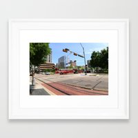 cities Framed Art Prints featuring cities by sannngat