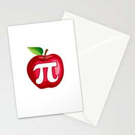 Apple Pi Stationery Cards