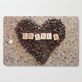Love Coffee Cutting Board