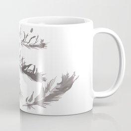 Crow Feather Study Coffee Mug