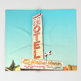 O'Haire Manor Motel Throw Blanket