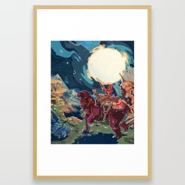 Ursa Framed Art Print