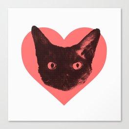 The Bat Loves You Canvas Print