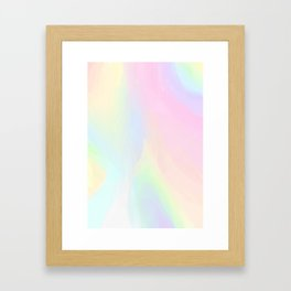 Unicorn Things Framed Art Print