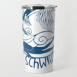 Fisch und Mensch (Fish and Man) Travel Mug
