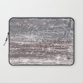 Gray nebulous wash drawing Laptop Sleeve