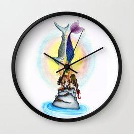 Yogi Kiss Wall Clock
