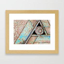 Equilateral Framed Art Print