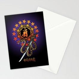 Snake Ninja Stationery Cards